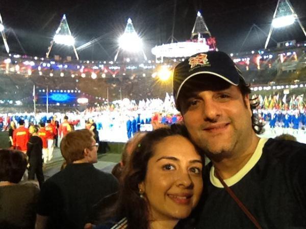 Fardeen Khan and Natasha Madhavi