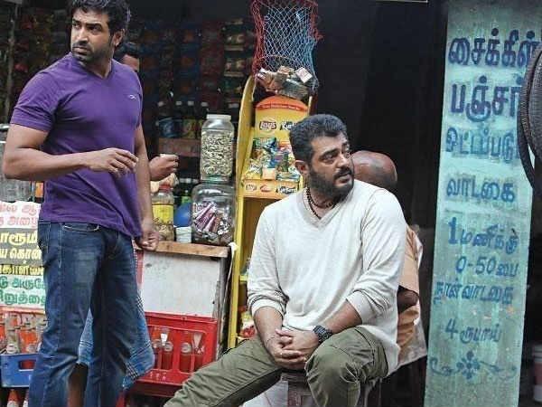Arun Vijay with Ajith Kumar