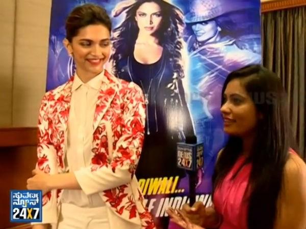 Deepika Padukone with Suguna