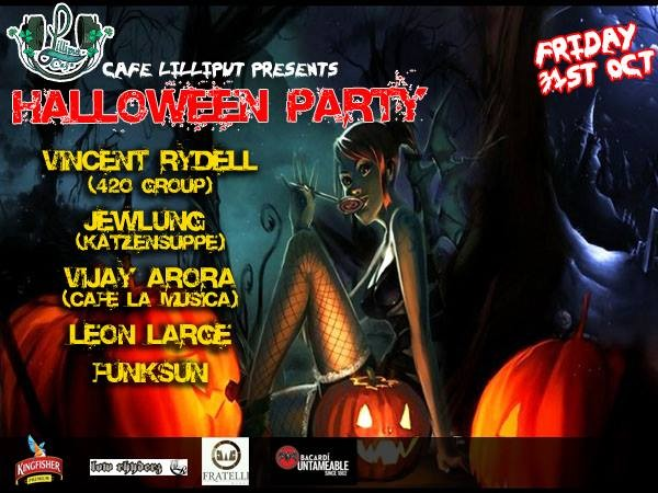 Cafe Lilliput Halloween party