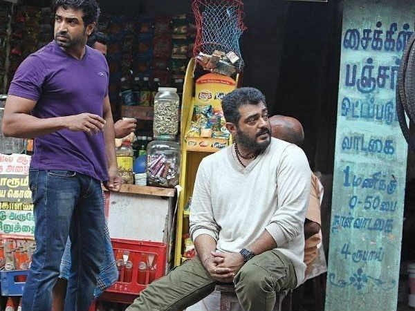 Arun Vijay and Ajith