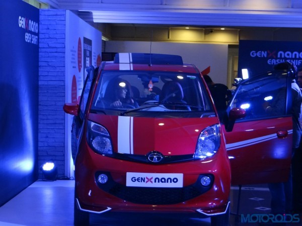 Tata Genx Nano AMT Accessories Revealed