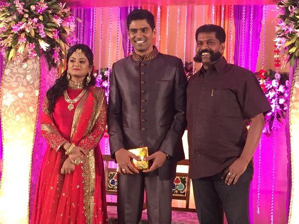 SR Prabhu Deepthi's Wedding Reception