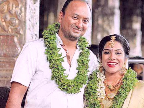 Actress Sandhya Marries Venkat Chandrasekharan