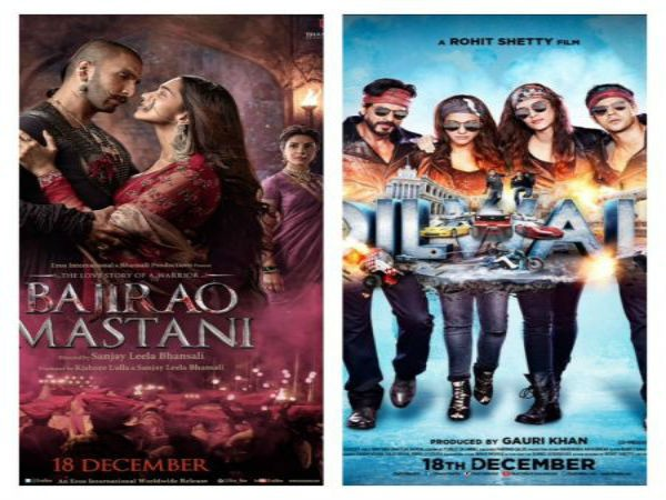 Bajirao Mastani and Dilwale