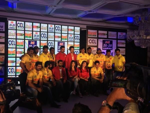 Celebrity Cricket League 6 launch