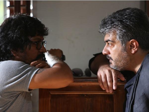 Vishnuvardhan with Ajith