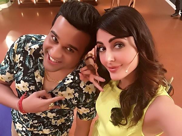 Mandana Karimi joins Krushna Abhishek's 'Comedy Nights Live'