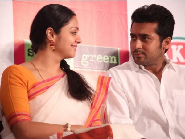 Suriya with Jyothika