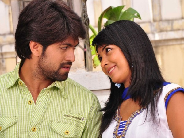 Yash with Radhika