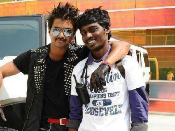 Vijay with Atlee