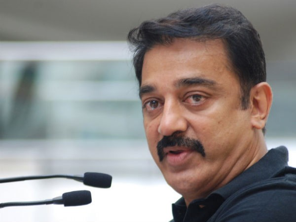 Did Karunas request Kamal Haasan to protest against the TN govt?