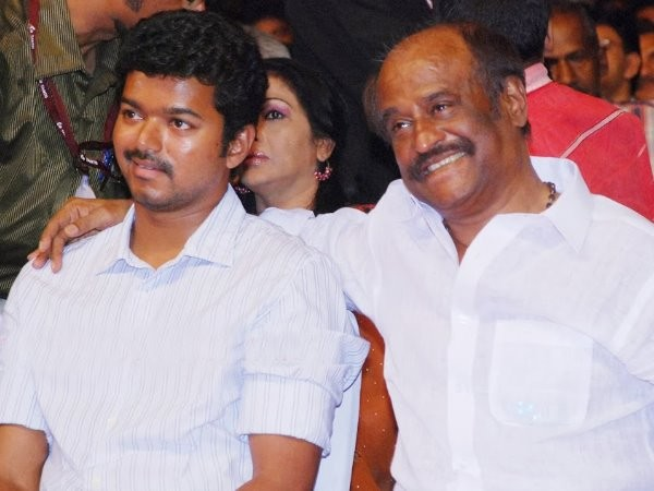 Vijay and Rajinikanth