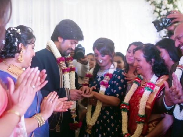 Yash-Radhika Pandit Engagement