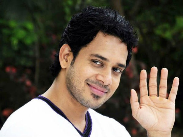 Bharath in a still from Tamil film 555.