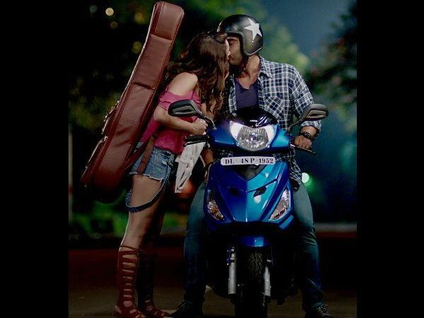 Arjun Kapoor and Shraddha Kapoor in Half Girlfriend