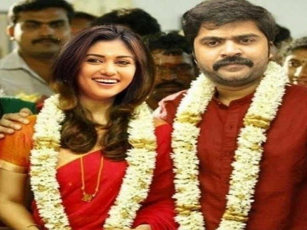 A Fake Picture of Simbu and Oviya's marriage which is doing rounds online. (Twitter)