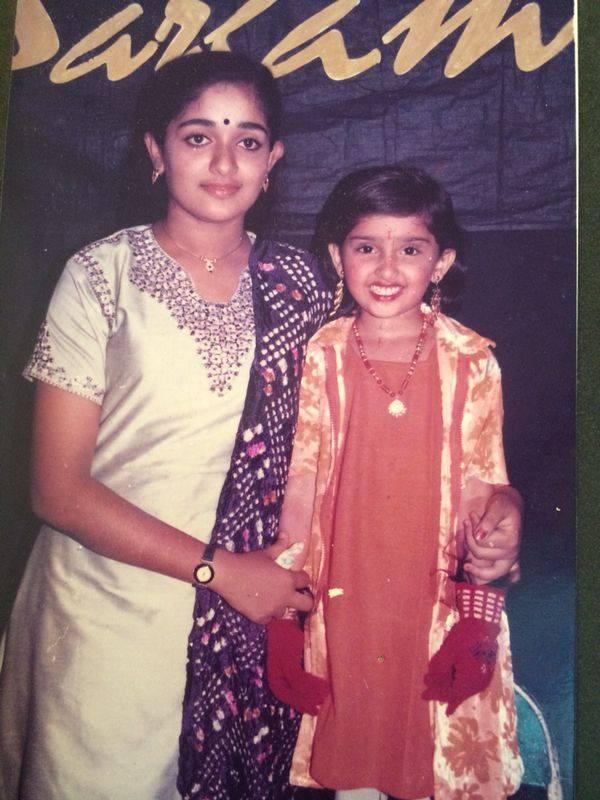 Kavyamadhavan with Sanusha