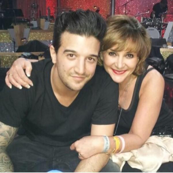 Mark Ballas with mother Shirly Ballas
