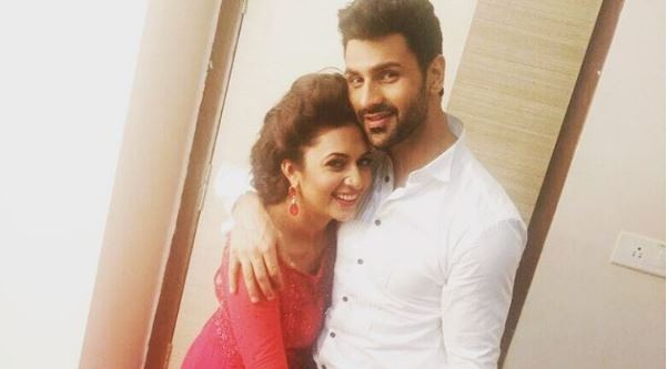 Divyanka Tripathi and Vivek Dahiya's pre-wedding photo shoot. Pictured: Divyanka Tripathi and Vivek Dahiya