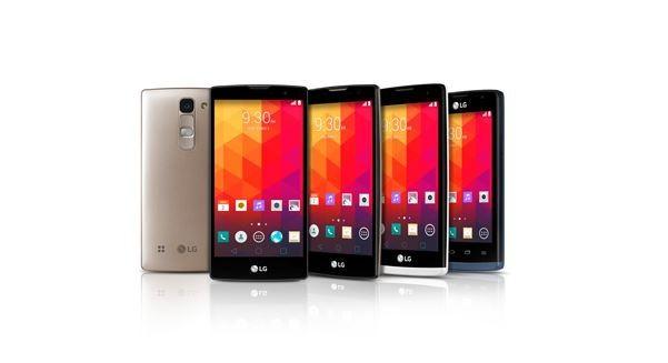 LG Unveils Mid-Range Smartphone Series - Leon, Joy, Magna, Spirit Ahead of MWC 2015