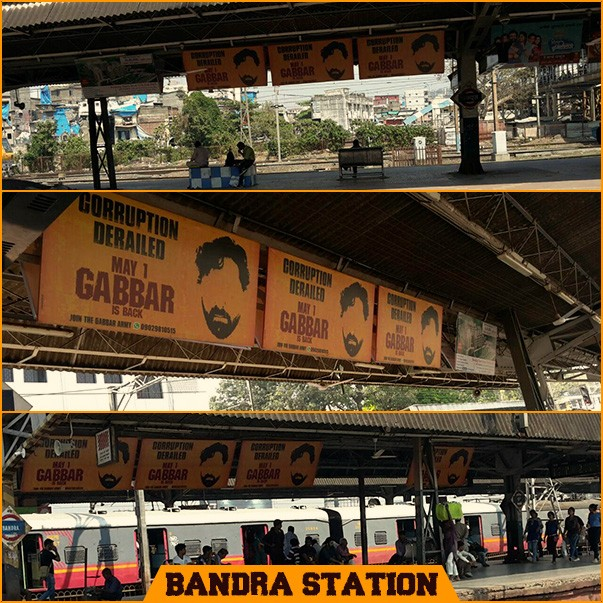 Gabbar is back,Akshay kumar,Gabbar is back posters,Gabbar s back posters in mumbai,Anti-corruption