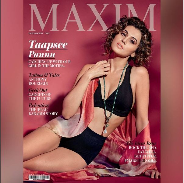 Taapsee Pannu,hot Taapsee Pannu,Taapsee Pannu hot,Taapsee Pannu on Maxim,Taapsee Pannu on Maxim cover
