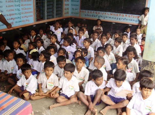 government school kids