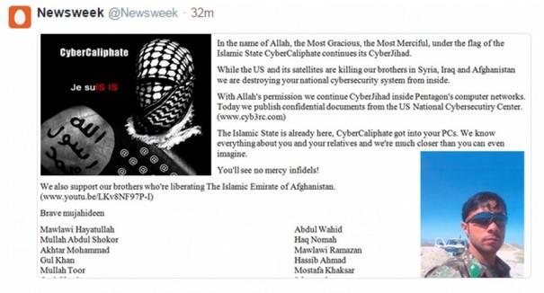 ISIS hackers Newsweek