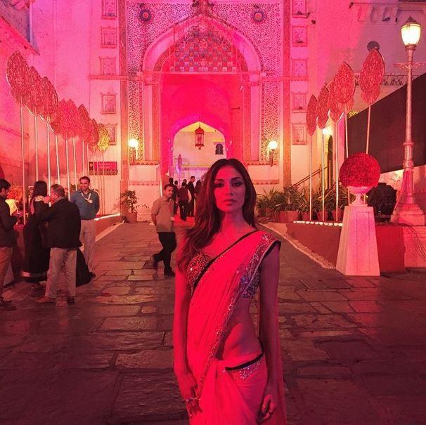 Nicole Scherzinger at Hinduja Wedding