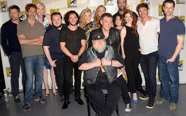 Game of Thrones cast at Comic Con
