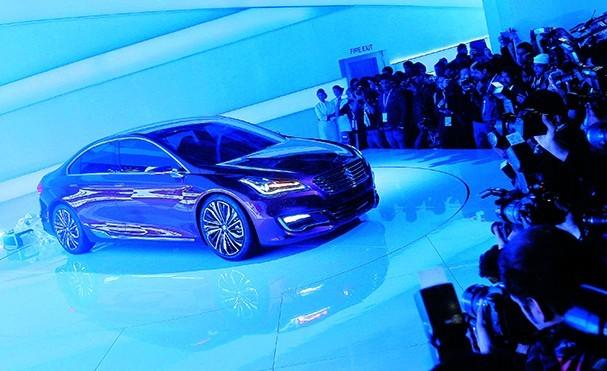 Maruti Suzuki Ciaz Concept at Auto Expo