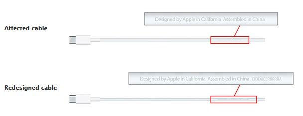 Apple USB-C charge cable