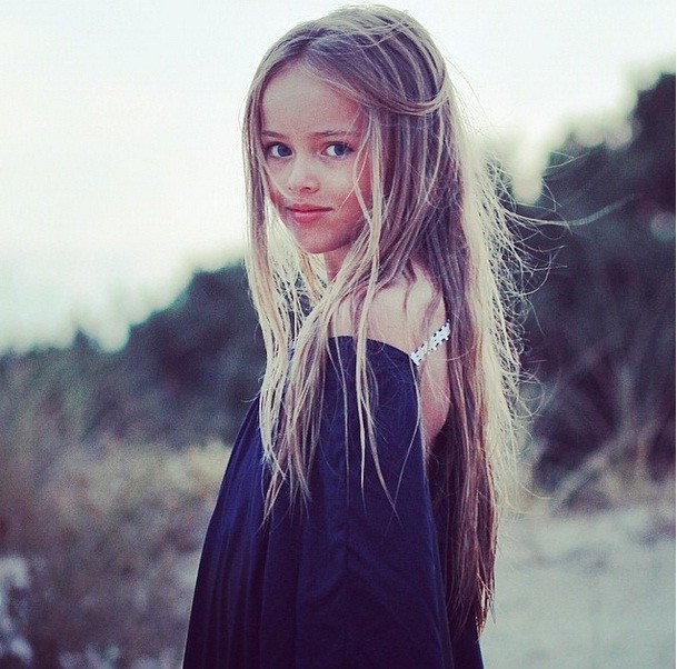 9-year-old supermodel Kristina Pimenova is being sexualized online