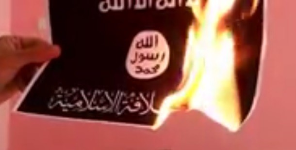 Muslims are reluctant to participate in Burn ISIS flag challenge