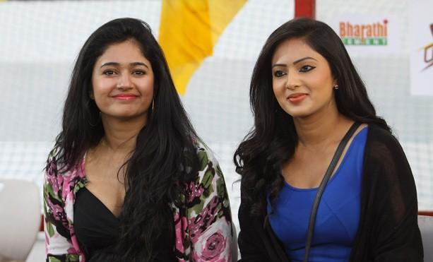 Poonam Bajwa and Nikesha Patel