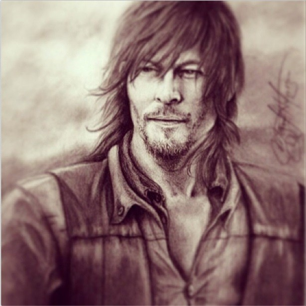 Norman reedus turns 46 interesting facts about 39 the for Tattoo shops in norman