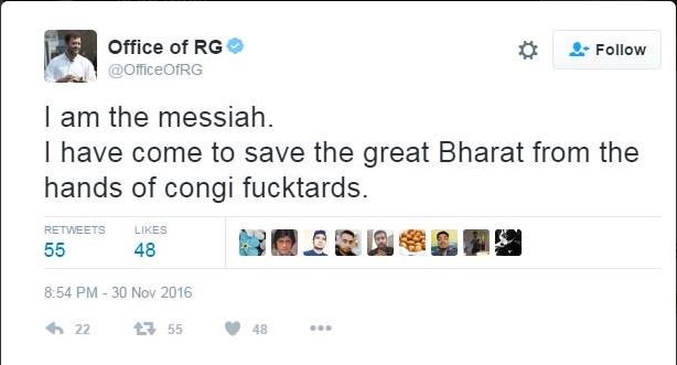 rahul twitter