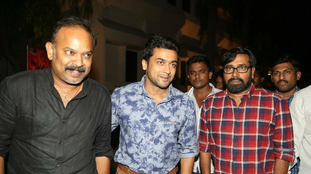 Rakshasudu Trailer Launch,Rakshasudu,Rakshasudu First Look launch,Rakshasudu first look,Rakshasudu trailer,suriya and venkat prabhu,suriya,venkat prabhu,actor suriya,suriya pics,suriya images,suriya photos,suriya stills