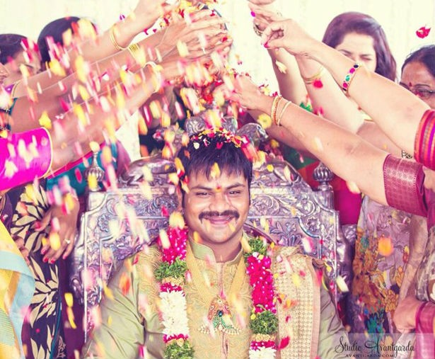 Machu family at Manchu Manoj Pellikoduku Event,Manchu Manoj Pellikoduku Event,Machu family,Manchu Manoj engagement,Manchu Manoj marriage,Manchu Manoj,actor Manchu Manoj,lakshmi manchu,Mohan Babu son engagement,mohan babu