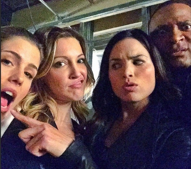 Emily Laurel Nyssa and Diggle