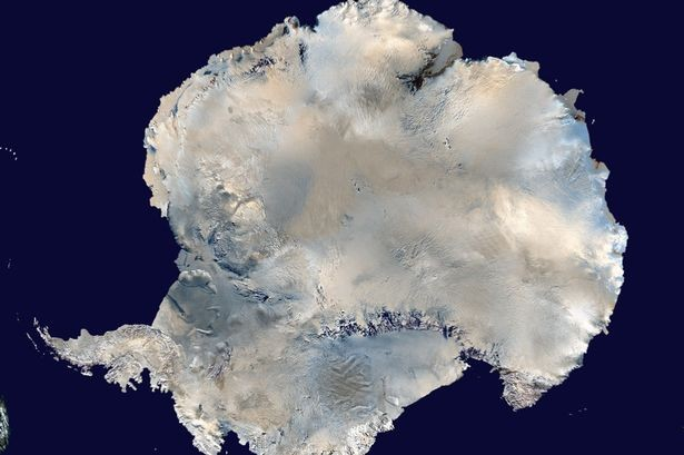 Is there a crashed UFO in the South Pole?