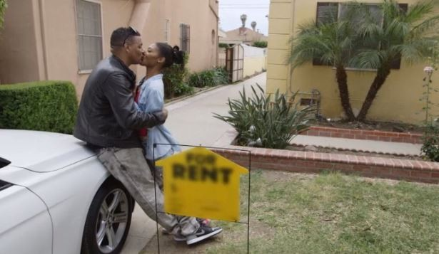 Richie D and Moniece go to see a house