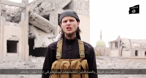 John Maguire in ISIS propaganda video