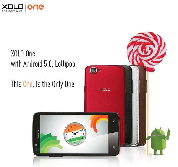 Android 5.0 Lollipop Update Released to Xolo One in India