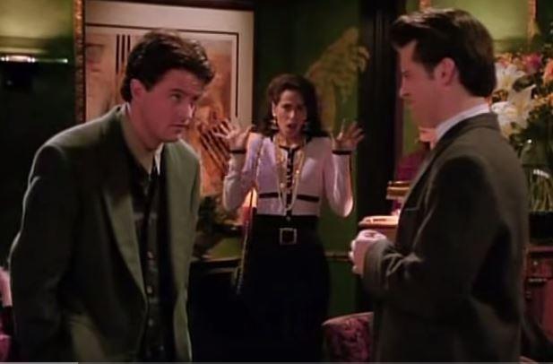 Chandler, Janice and Joey