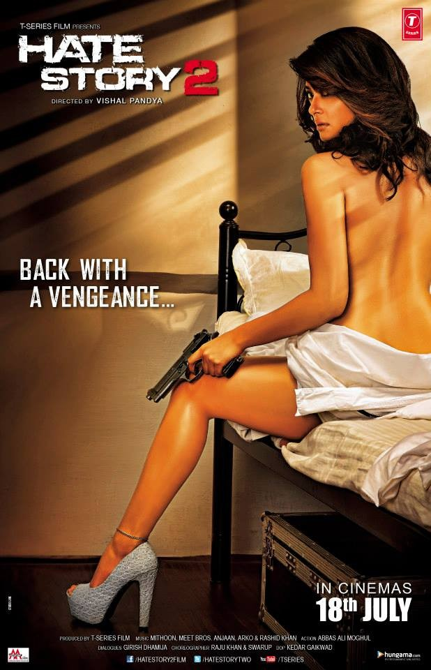 Celebs went naked for their movie posters
