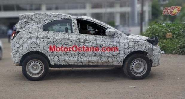 Tata Nexon continues to be tested on Indian roads