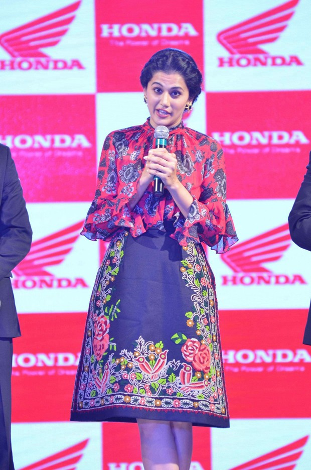 Taapsee Pannu,Honda launches new Aviator,Activa-i,honda launches new Aviator,Honda launches new Activa-i,Activa-i,Aviator,Honda Aviator,Honda Activa-I,Taapsee Pannu Launched Activa-I and Aviator,Actress Taapsee Pannu,Taapsee Pannu pics,Taapsee Pannu imag