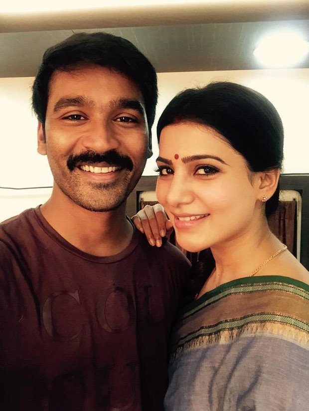 Samantha,Dhanush,Dhanush and Samantha,Samantha and Dhanush,Vada Chennai,Samantha out of Vada Chennai,tamil movie Vada Chennai